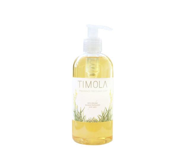 Timola Liquid Soap Fragrance Free 300ml