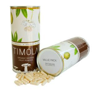 Timola Organic Baobab Fruit Capsules