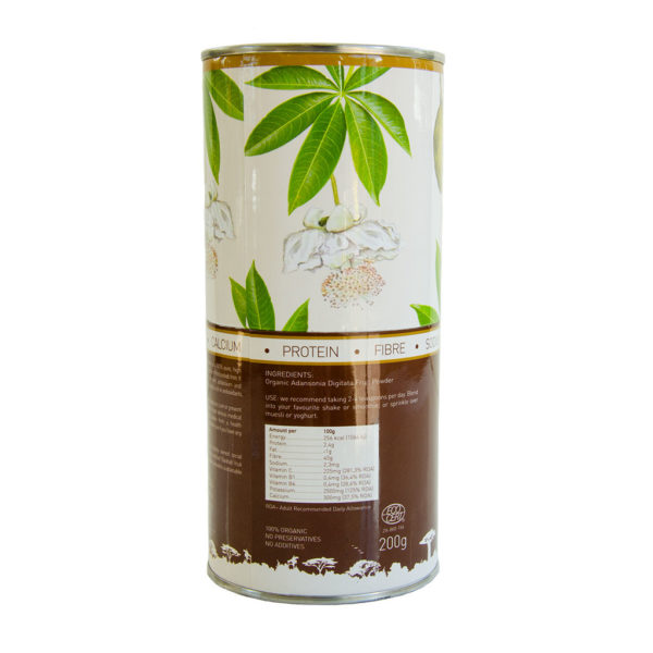 Timola Organic Baobab Fruit Powder