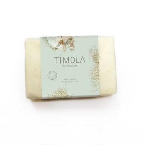 Timola Green Clay Mask Soap Bar