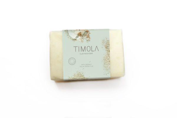 Timola Green Clay Mask Soap Bar