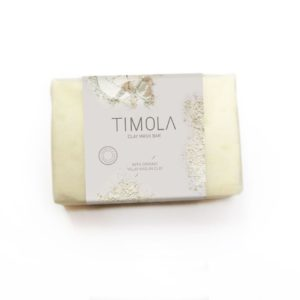 Timola Clay Mask Soap Bar Kaolin Clay