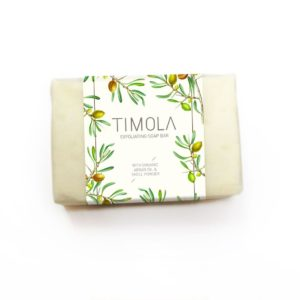 Timola Handcrafted Soap Bar with Argan Shell Powder