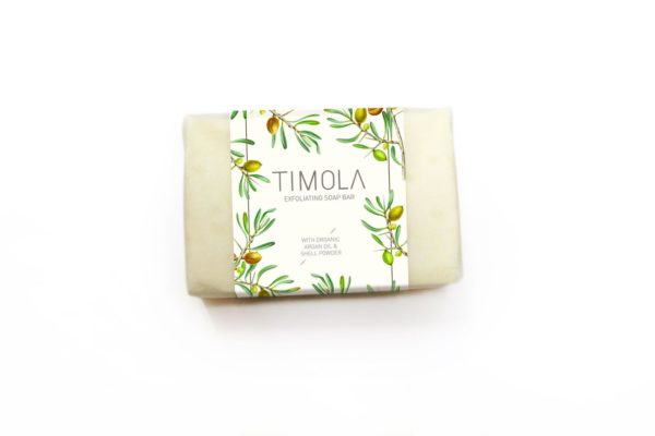 Timola Handcrafted Soap Bar with Argan Shell Powder