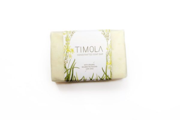 Timola Handcrafted Bulbine Bar Soap